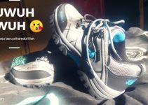 cara hilangkan bau sepatu