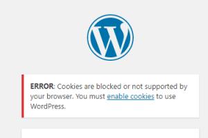 error cookies blocked